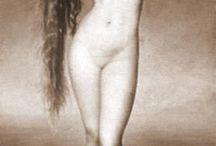 """projeto """"oh my goddess"""" / estudo sobre ensaio de nu"""