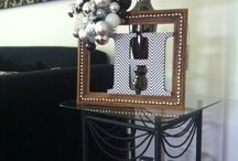 Modern Christmas - Black White & Silver / My Christmas Decorations