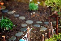 miniatur fairy garden