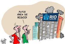 Brasil (Rio de Janeiro) / Charges sobre o Rio de Janeiro.