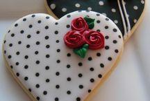 Sugar fondant cookies