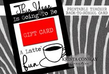 Back To School Printables / by Krista Conway