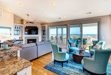 8 Bedroom OBX Vacation Homes / Beach houses with eight bedrooms on Hatteras Island on the beautiful Outer Banks of North Carolina - OBX!
