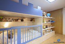 Dormitorio infantil | Reforma integral y de mobiliario en Sant Cugat / En Grupo Inventia reformamos y amueblamos este dormitorio infantil en una vivienda de Sant Cugat.