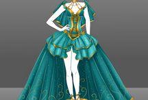 Fantasy dress