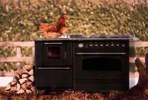 Cucine a legna / Cucine a legna per scaldare e cucinare - combinate gas e legna