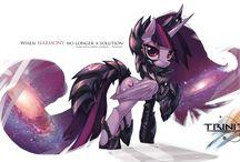 Ponies / ,,,