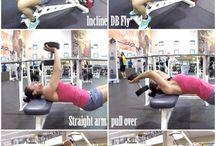Hrudník a triceps