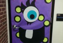 Class decorarion halloween