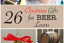 Christmas Gifts for Beer Lovers / For your husband, dad, brother, or any other guy in your life, these are some of the best Christmas gifts for beer lovers out there.