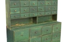 Rustic pine furniture