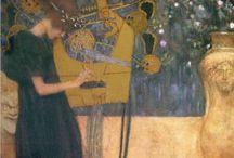 Art / Gustav Klimt / by Victoria Buttigieg