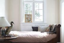 bedrooms / by Elana Frankel