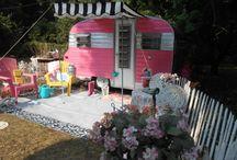 Happy camper- to be / Camper trailer decor / by Elsie