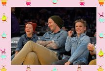 Famous people matching clothes with children! / Famous people matching clothes with their children. Similar look to www.comomami.com