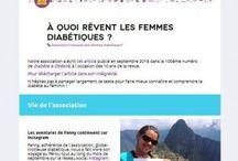 """Newsletter AFFD """"Quoi de neuf chez les femmes diabétiques ?"""""""