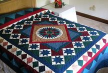 Quilts - Mariners compas / by Gwendolyn Fox Roark