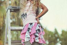 ruffles skirts