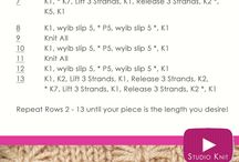 knitting stiches