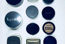 Makeup. Powder