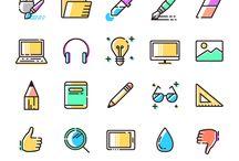 Stickers / UI design