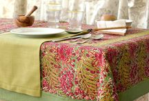 Table Settings / Inspirations for setting an elegant table with a French touch