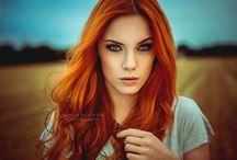 Portraitideen (rote Haare)