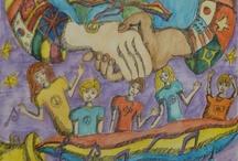 아동미술 평화
