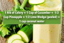 Detoxing and healthy drinks