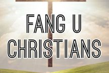 FANG U CHRISTIANS / *NOTE: Please only pin Christian pins!!*This is place like Fangirling university, only you won't get judged for pinning Christian stuff. Obviously no swearing or inappropriate content.