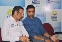 My Country Run | JAIN UNIVERSITY / Jain University, one of the Top University in India renowned for promoting sports organised My Country Run. Cricketer Robin Uthappa and Cueist Pankaj Advani were the Brand Ambassadors of the run.