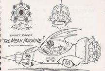 Hanna Barbera model sheets / los modelos para los dibujos animados de siempre
