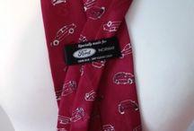Ford Men Burgundy Tie Made in Norway Krawat | eBay