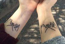 Friendship goals +tatoos