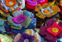 recycled wool sweaters and fabric