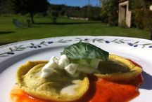 Tuscan food to drool over  / We love food and our restaurant produces high quality dishes using only local ingredients in Tuscany