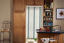 "Horizontal Blinds / Horizontal Blinds: From your good old standard 1"" aluminium venetian blinds, horizontals have come a really long way. Available in widths from ½"" to 2 ½"" . Various material options are available like aluminum, vinyl, faux wood, composite and real wood. Several options available like cordless, motorized. http://www.windowinspirations.ca/"