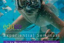 EduGO Upcoming Seminars / Δείτε εδώ τα προσεχή βιωματικά σεμινάρια της EduGO !