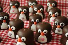 Traktatie school pinguin / Traktatie