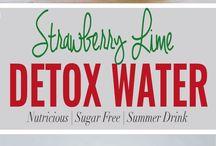 Agua con infusión frutal