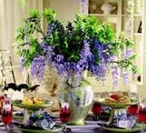 Tablescape ideas / by Linda Hanson