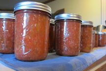 Canning and storing!!