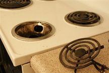 Home cleaning tips / by Regina Burnett