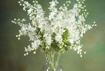 inside flower arrangements