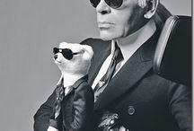 Karl Lagerfeld / by Reiko Foujita