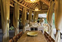 Restaurant Design / A country modern atmosphere with ties to South Africa and the Southern US