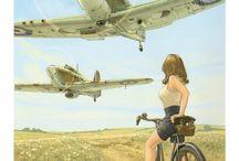 Kriegsflugzeuge