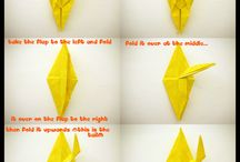 Origami/vouwen / by Bianca Molenaar