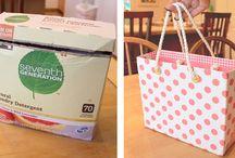 Crafts - Repurposed Cardboard / by Brenda Goulding