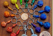 Porte clés en cordes